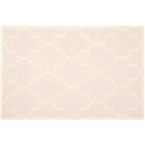 Sawyer Rug, Light Pink/Ivory