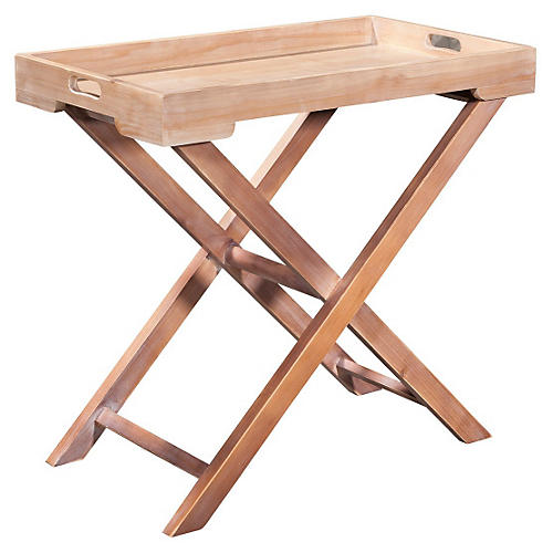 Liv Tray Table, Natural