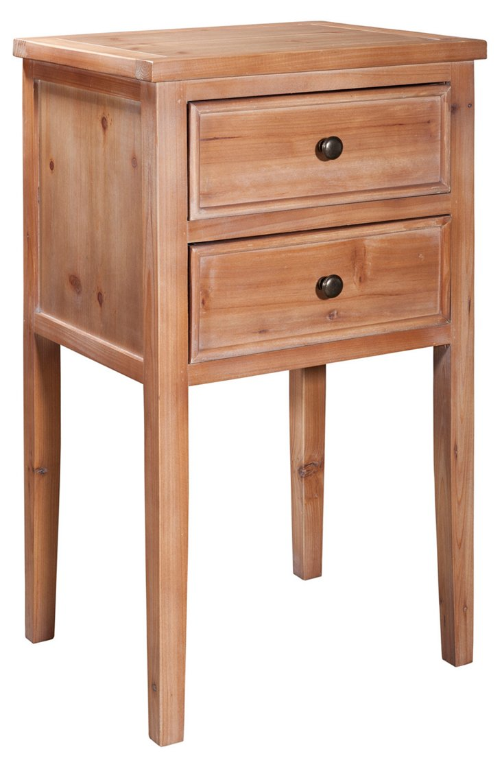 Tilly Nightstand, Natural