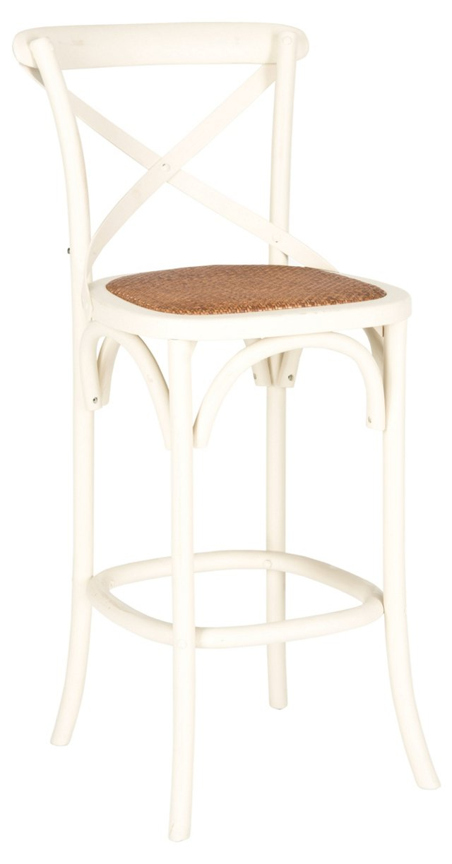 Graham Barstool, White
