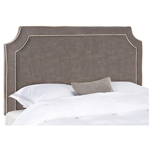 Chloe Headboard, Charcoal