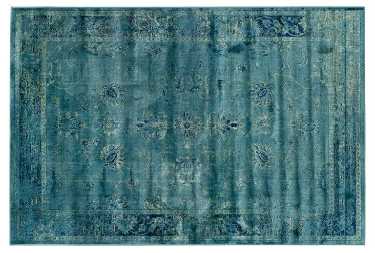 Sasha Rug, Turquoise
