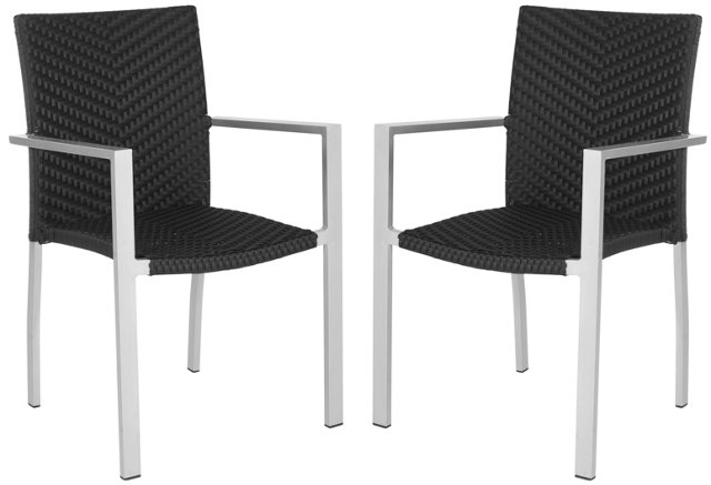 Bagatelle Stackable Armchairs, Pair