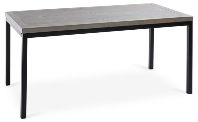 Dana Coffee Table, Gray/Black