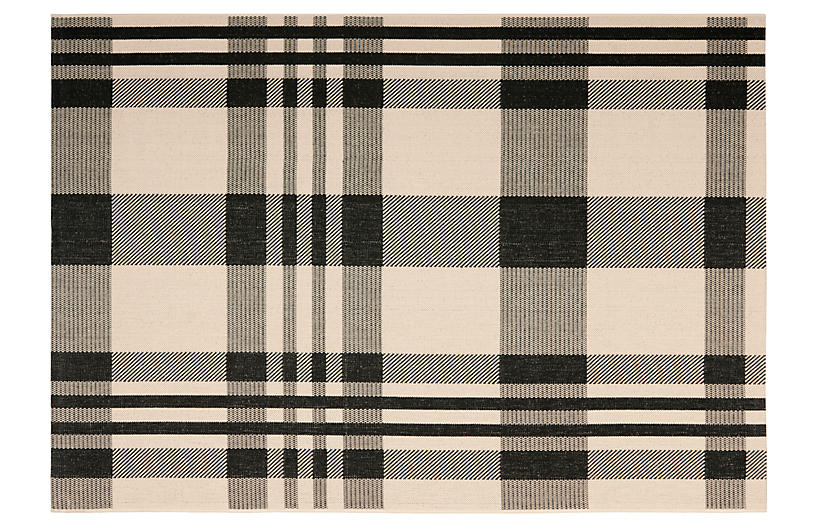 Shauna Outdoor Rug - Black