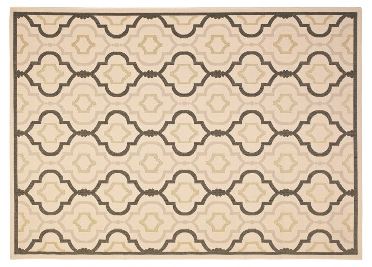 Basin Outdoor Rug, Taupe