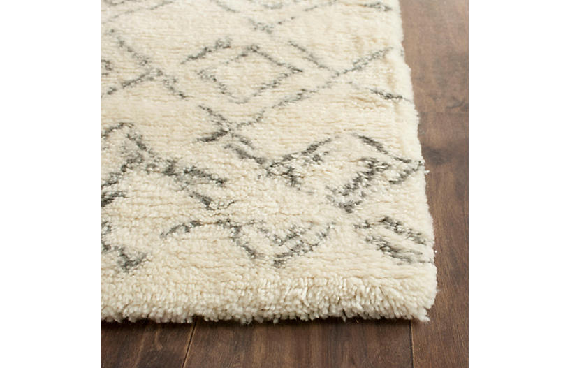 Pike Rug White Gray Moroccan Rugs By Style Rugs