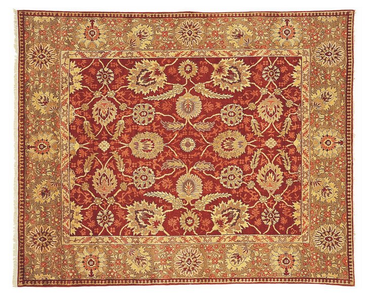 Goshen Rug, Red/Gold