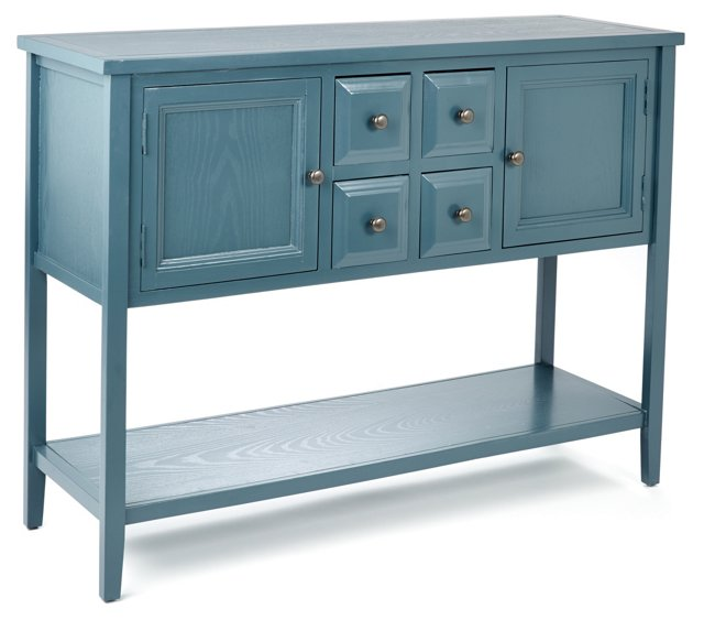Hamilton Sideboard, Blue