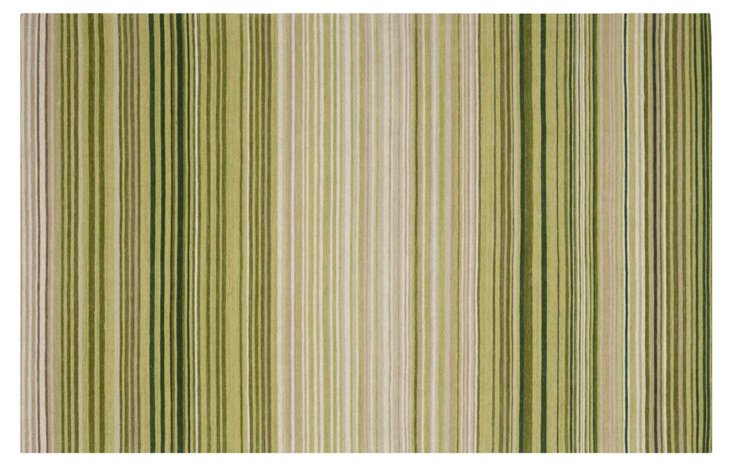 Anika Rug, Green