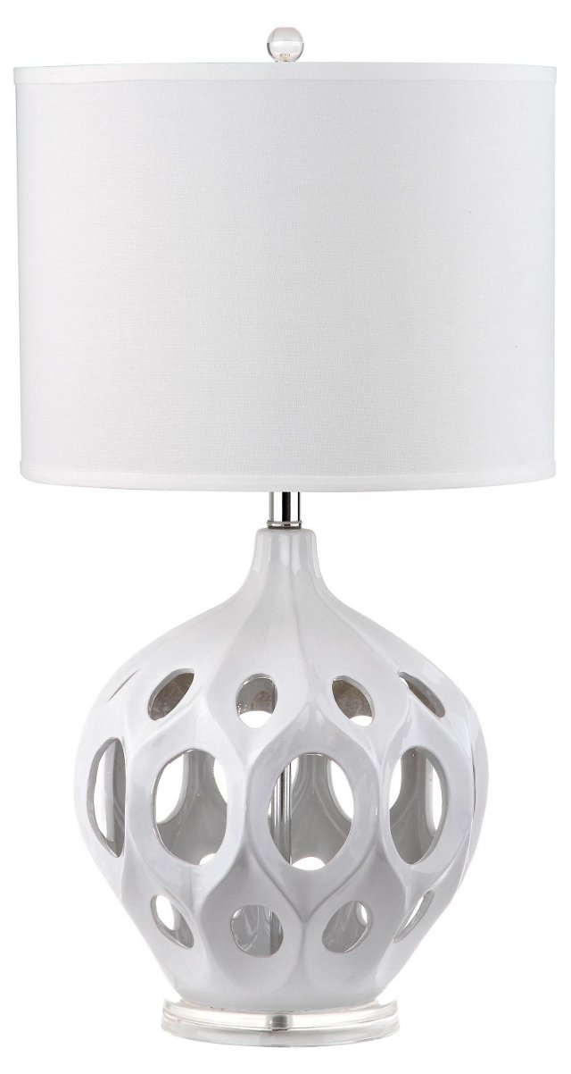 Regina Table Lamp, White