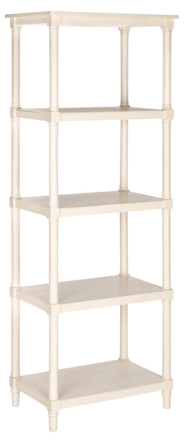"Ollie 66"" Bookcase, White"