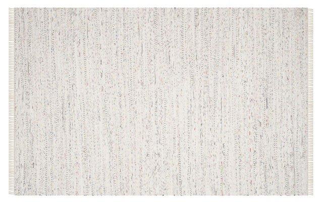 Lavinia Cotton Rug, White/Multi