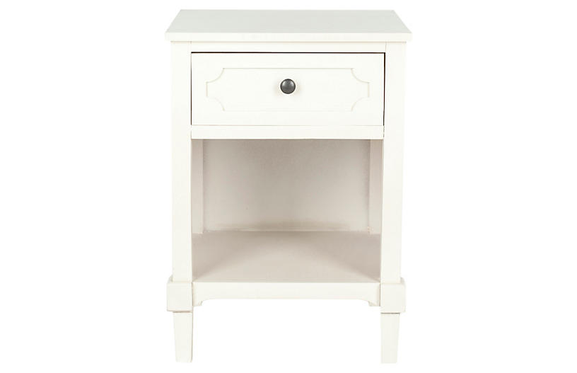 Eva Nightstand, Off-White