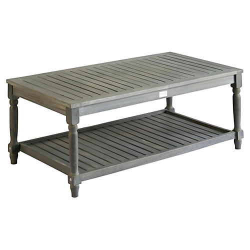 Lovell Coffee Table, Gray