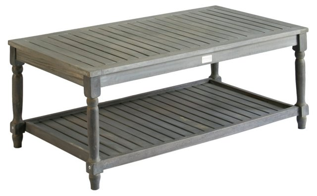 "Lovell 43"" Coffee Table, Gray"