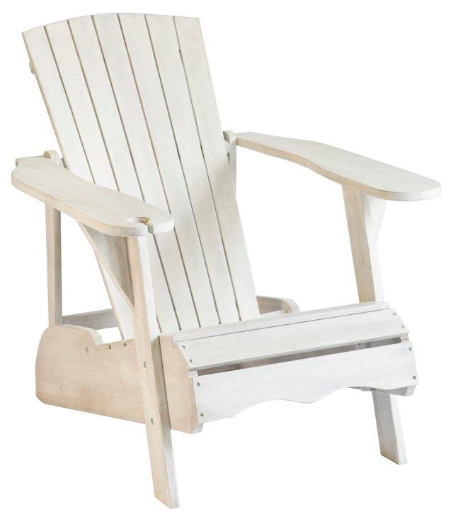Crosby Adirondack Chair, White