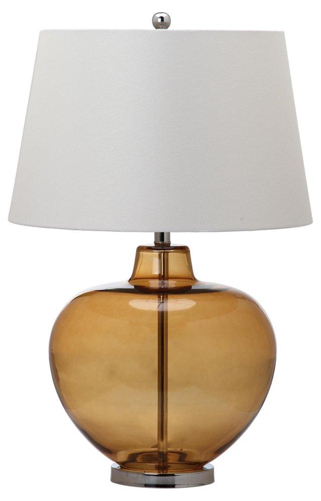 Taladega Table Lamp, Amber