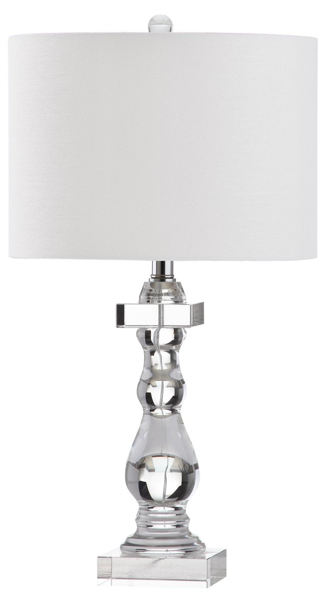 Knox Table Lamp, Clear