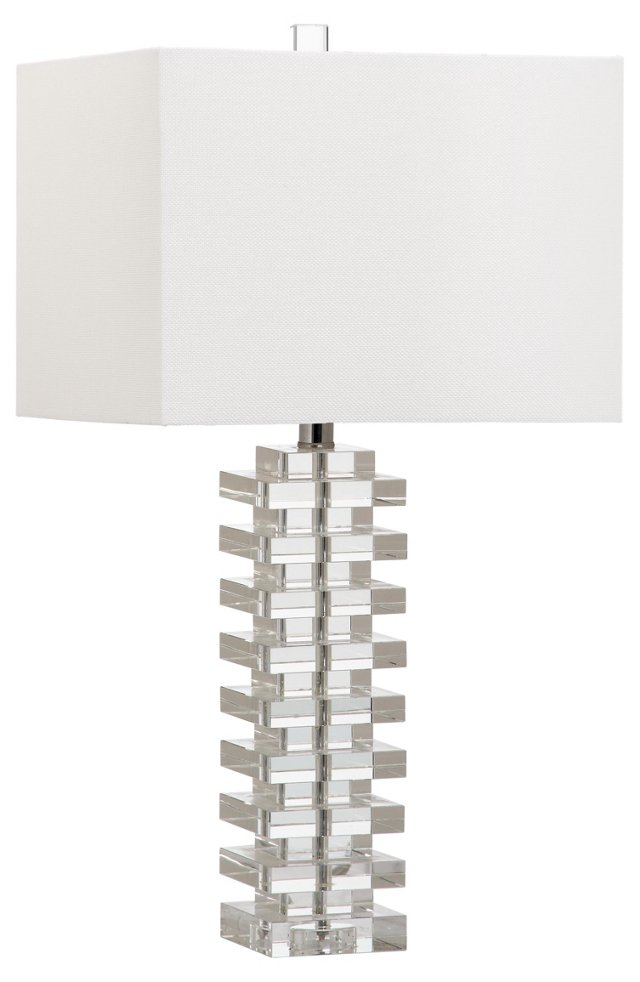 Magnus Table Lamp, Clear