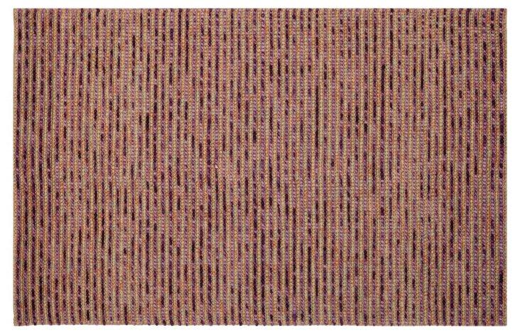 4'x6' Sumner Jute-Blend Rug, Purple