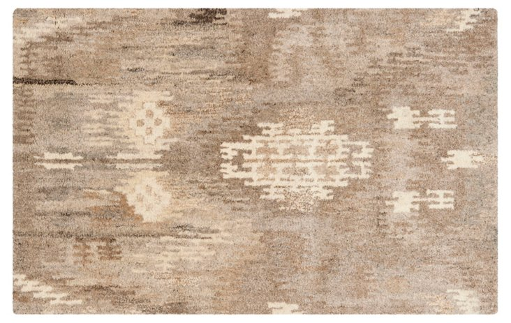 Joliet Rug, Natural/Multi