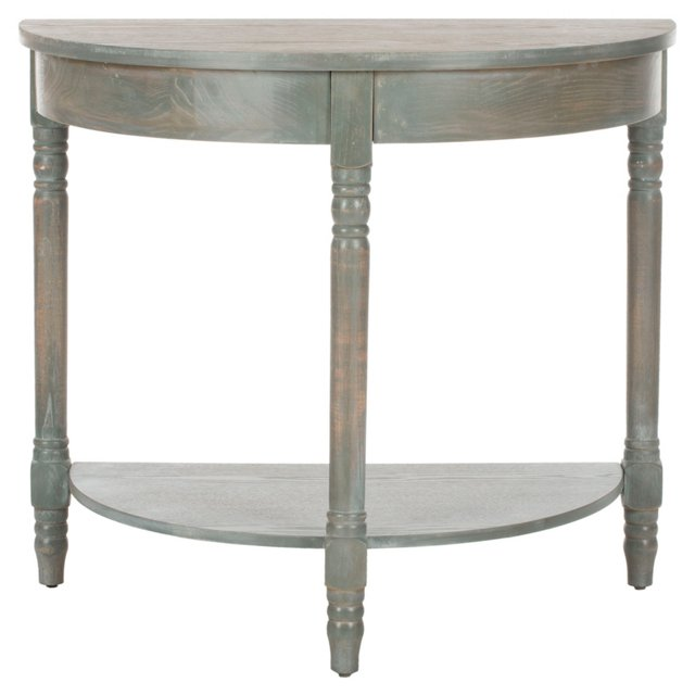 Mercer Console, Distressed Slate