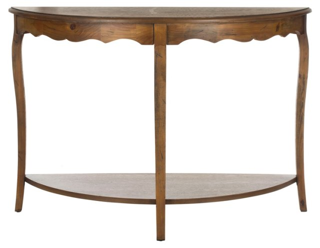 Harper Console, Dark Walnut