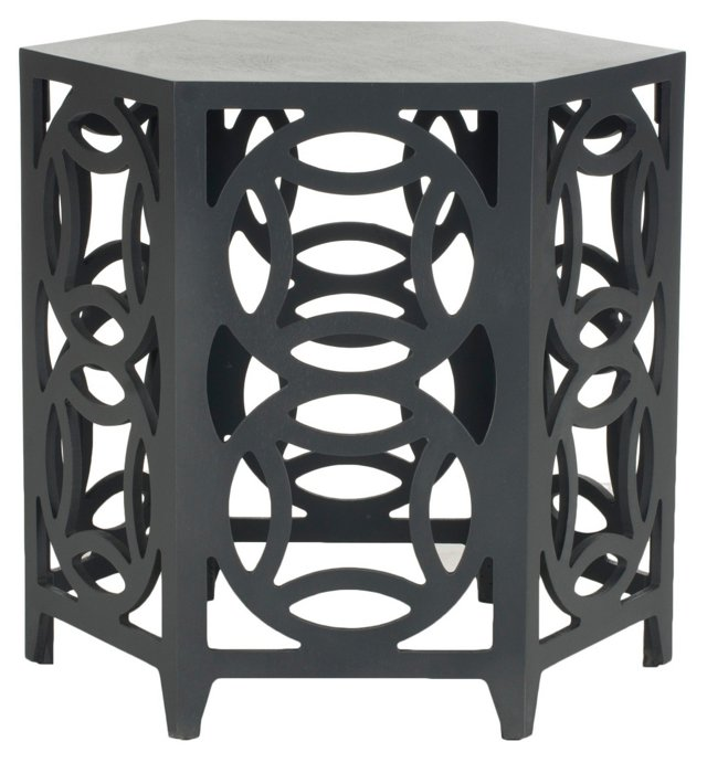 Amaryllis Side Table, Dark Gray