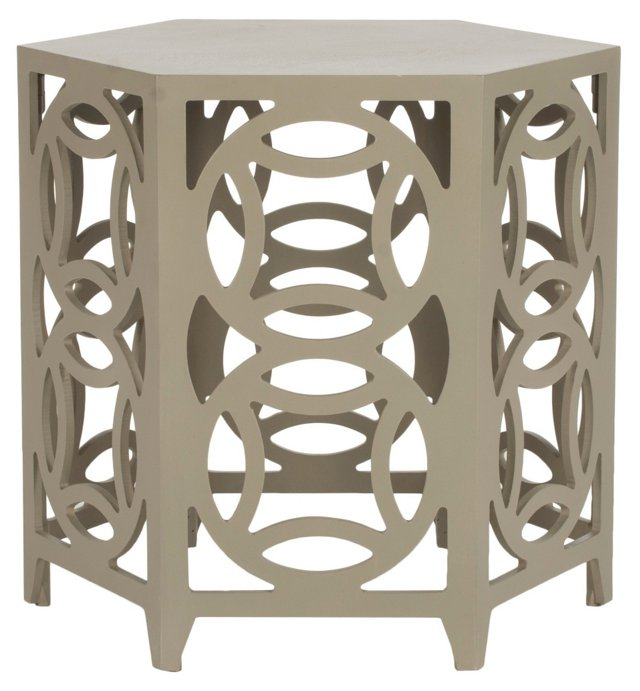 Amaryllis Side Table, Sand