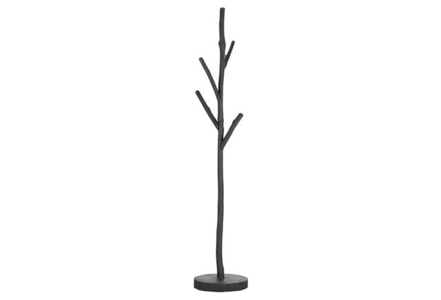 Eliza Coat Hanger, Dark Gray