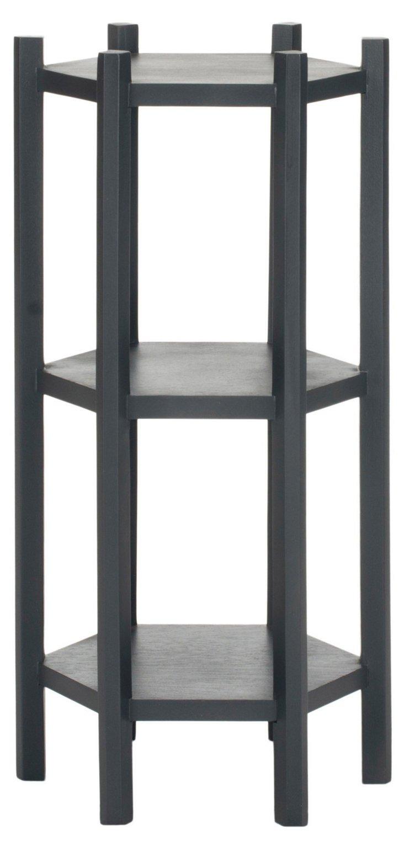 Presley Telephone Table, Dark Gray