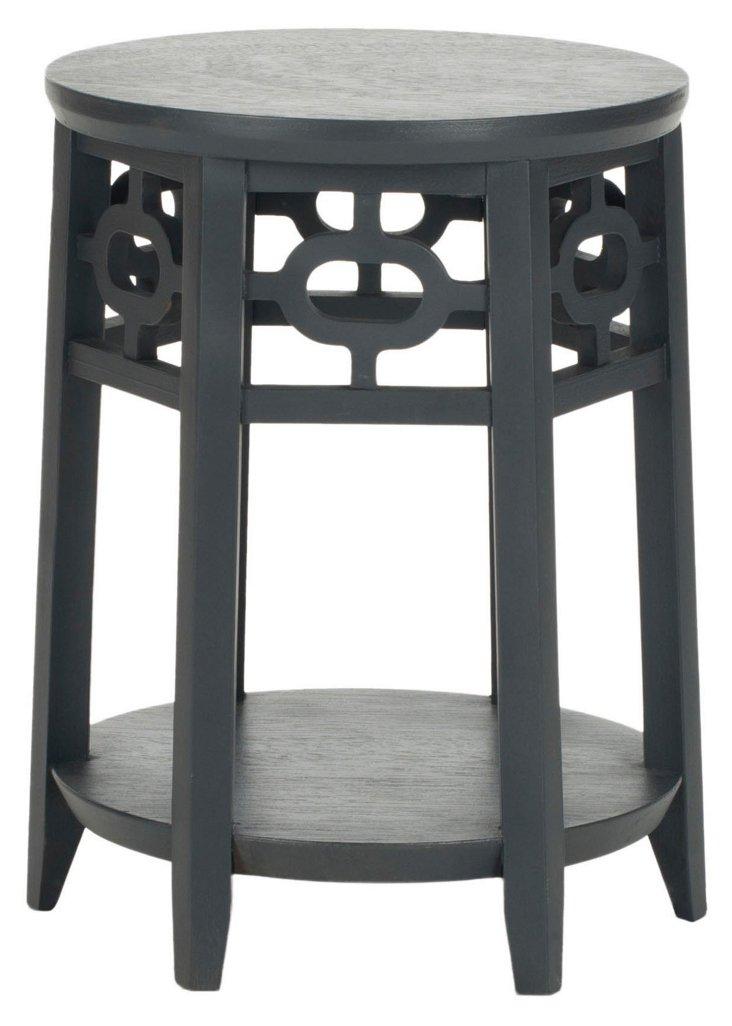 Elliot Side Table, Dark Gray