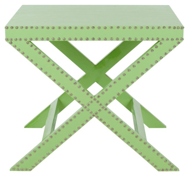 Eve X-Leg Bench, Green
