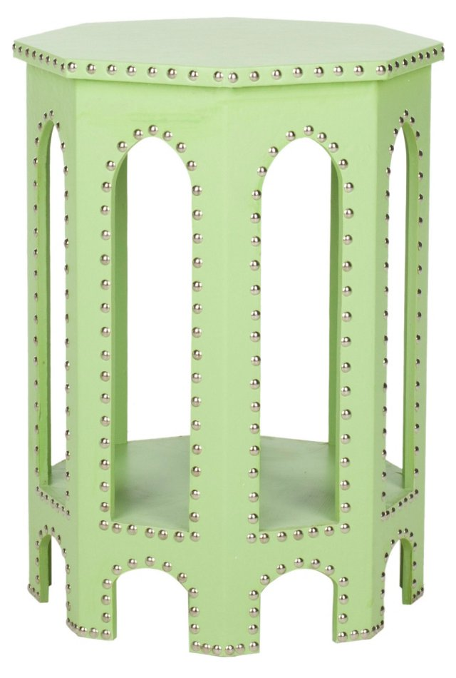 Jessa Side Table, Lime Green