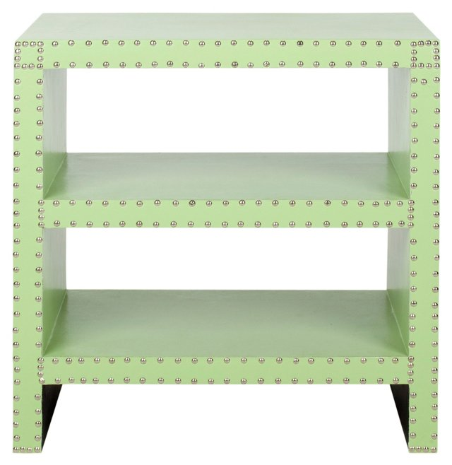 Vreeland Side Table, Lime Green