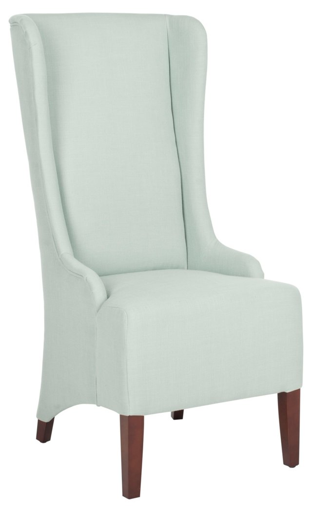 Elijiah Dining Chair, Light Blue