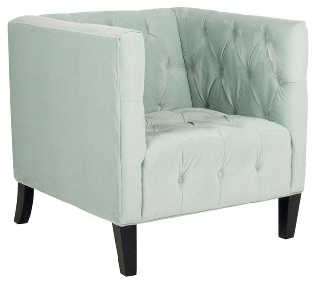Leonard Club Chair, Celadon