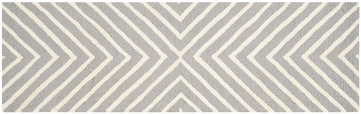 Yvaine Rug, Gray/Ivory