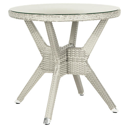 "Outdoor Langer 31""Dia Side Table"