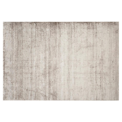 Eitan Rug, Light Gray/Dark Gray