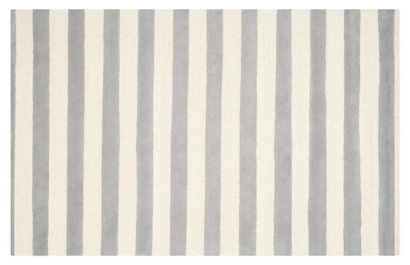 Baya Rug, Gray/Ivory