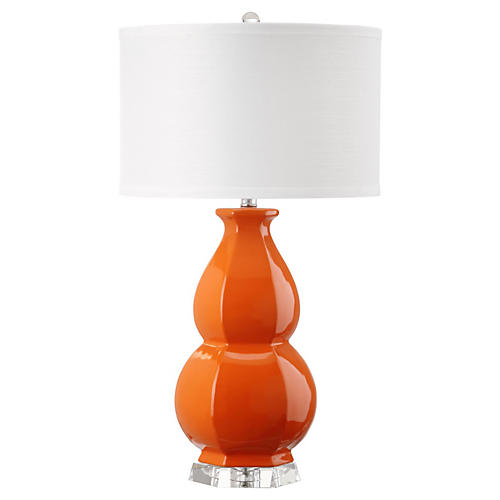 Titian Table Lamp, Orange