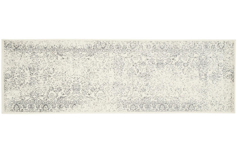 Ajax Rug Ivory Silver Traditional Rugs By Style