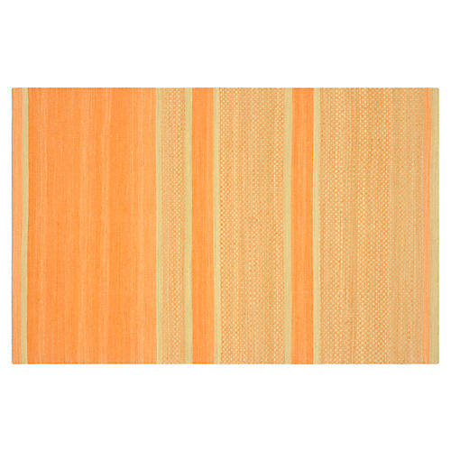 Jola Kids' Rug, Orange/Lime