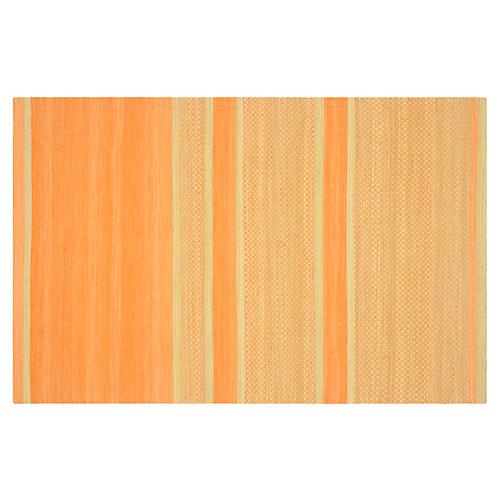 Jola Kids' Rug, Orange/Lime