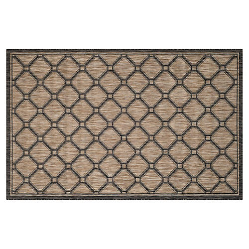 Arolodo Outdoor Rug, Natural