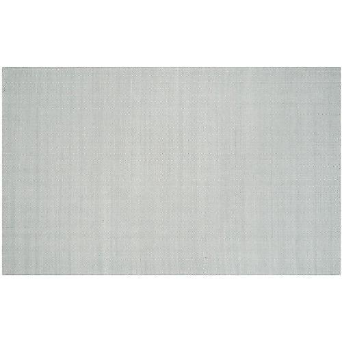 Candace Flat-Weave Rug, Green