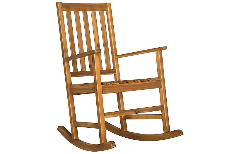 Hailey Rocking Chair, Teak