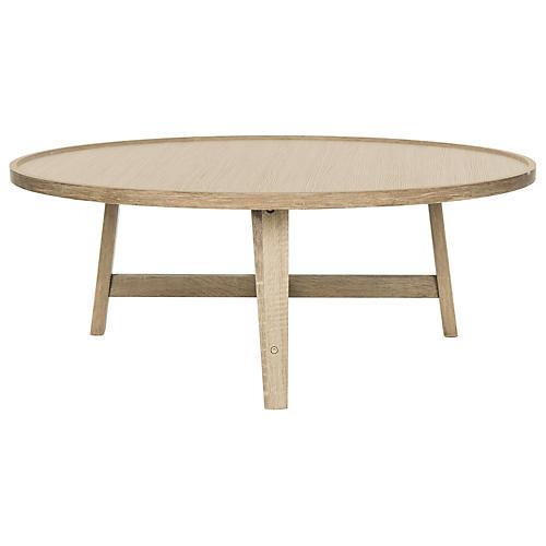 Jonna Midcentury Coffee Table, Natural
